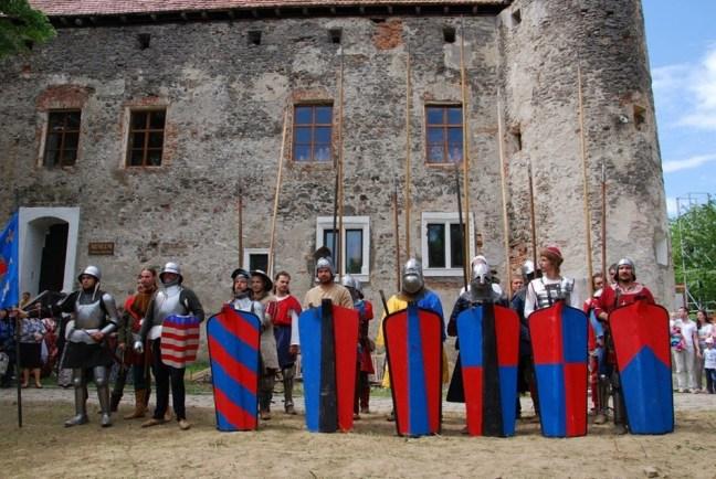 Medieval Festival in St Miklos Castle. Photo: zakarpattya.net.ua