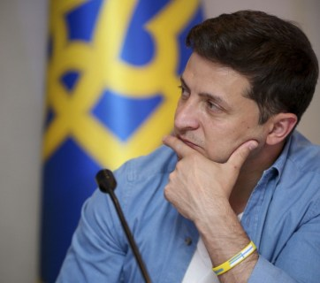 Ex comedian Zelenskyi fails to be original not having someone else's work to parody