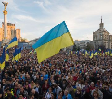 """No Capitulation"" rally, Kyiv, October 14, 2019"