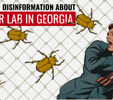 """Who's afraid of the brown stink bug?"" Russian disinformation about a lab in Tbilisi"