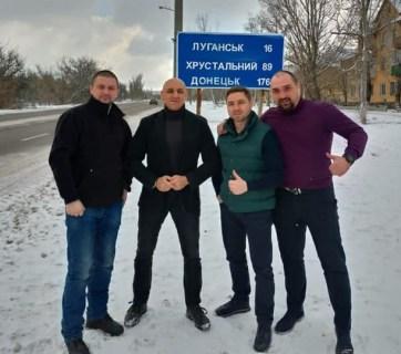 ex berkut officers return after a swap
