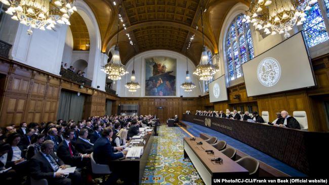 Рассмотрение иска Украины против России в Международном суде ООН. Гаага, 6 марта 2017 года