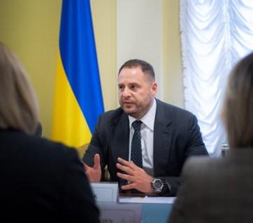 Andriy Yermak, the head of the President's Office. Photo: president.gov.ua
