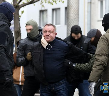 "On April 14, the Security Service of Ukraine reported it had arrested a ""mole"" within its ranks—Major General Valerii Shaitanov, who served as the chief of the service's Center for Special Operations ""A."" He was detained under suspicion of state treason and for allegedly carrying out terrorist attacks. (Photo: ssu.gov.ua)"