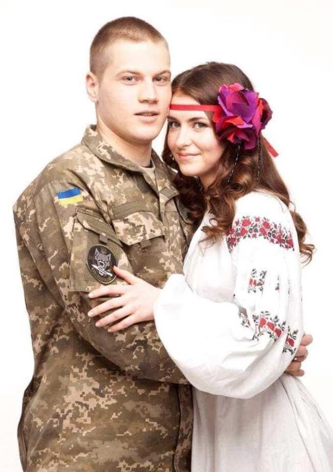 Illya Serbin and Yuliya Mykytenko. Photo: Yuliya Mykytenko FB