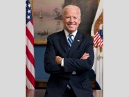 Official portrait of Vice President, now President-Elect, Joe Biden in his West Wing Office at the White House, Jan. 10, 2013. (Official White House Photo by David Lienemann).