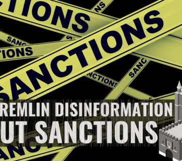 russian propaganda on sanctions
