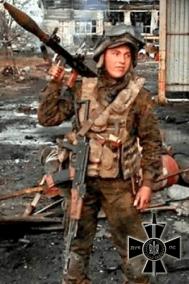 "Serhiy Tabala, nom de guerre ""Siever"""