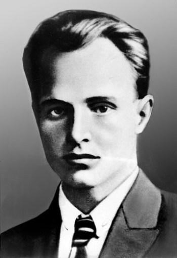 Andriy Babiuk, aka Myroslav Irchan as a young man