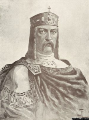 """The image of Prince Volodymyr the Great of Kyiv in the second edition of Mykola Arkas's """"History of Ukraine-Rus"""" published in Krakow, 1912"""