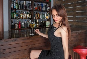 Image result for bar flirting