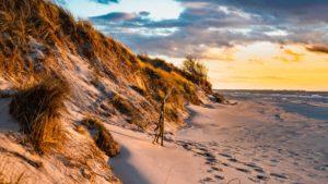 Strand_Fischland_Sonnenuntergang