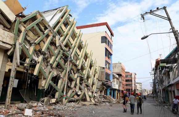 Siguen los temblores en Ecuador