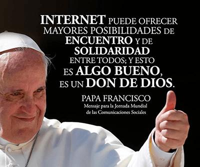 Mensaje del papa Francisco para la 51 Jornada Mundial de las comunicacions sociales