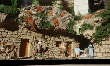 El Belén de la cueva en la Cueva de Francisco Palau, Aitona
