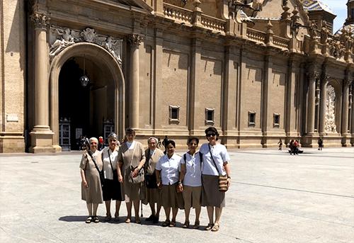 Despedida de la comunidad Edith Stein de Zaragoza