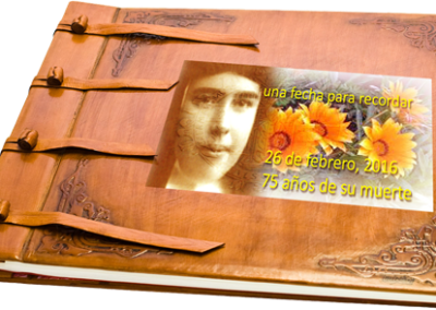 Álbum 75 años – muerte H. Teresa Mira