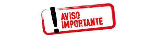 Aviso: cancelación de encuentros
