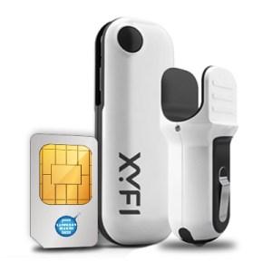 Autobox XYFI personal Wifi hotspot – incl. 500MB
