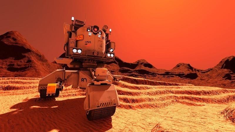 Nasa Humano a Marte