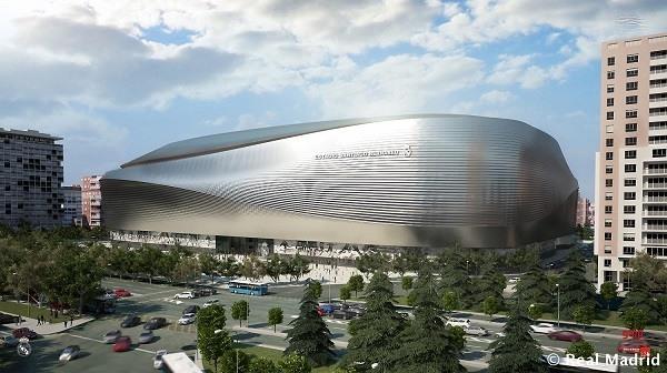 Nuevo Estadio Santiago Bernabeu