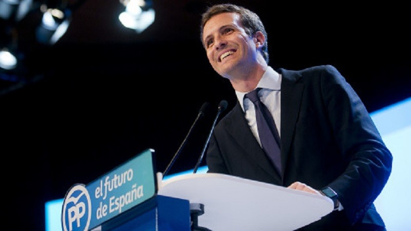 Pablo Casado Presidente PP