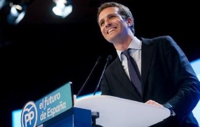 Pablo Casado da sus primeros pasos como presidente del Partido Popular