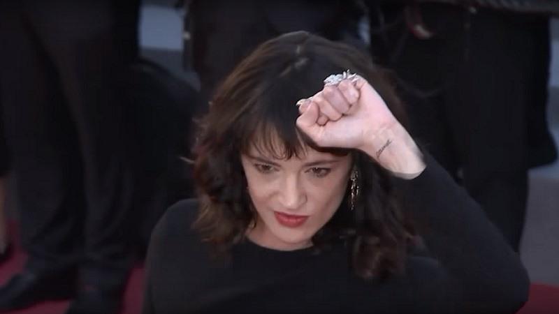 Asia Argento, en el festival de Cannes 2018