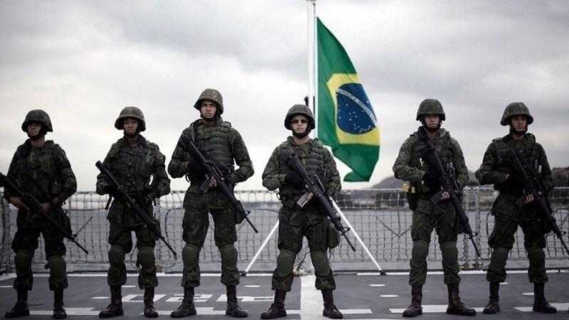 Brasil duplicara sus tropas en la region fronteriza con Venezuela