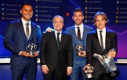 Modric se corona como mejor jugador de la Champions League 2018-2019 y Cristiano se ausenta de la Gala