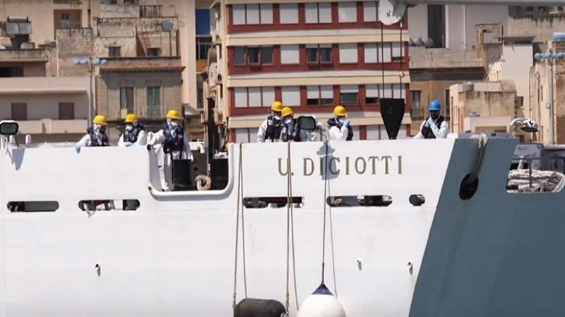 Imagen del buque Diciotti