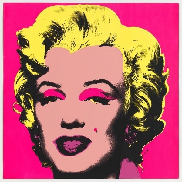 Retrato de Marilyn Monroe - Andy Warhol 1967.