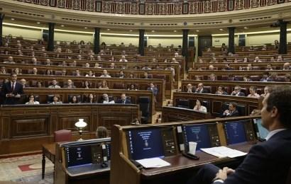 El Congreso aprueba el decreto de exhumación de los restos de Franco del Valle de los Caídos