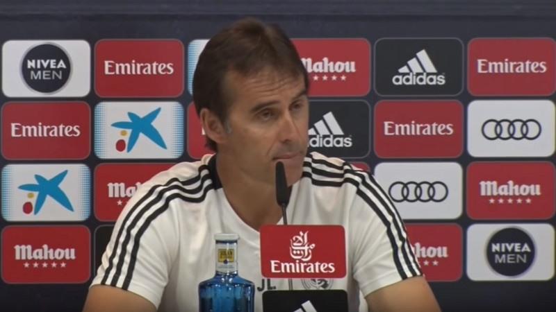 Julen Lopetegui, destituido como entrenador del Real Madrid