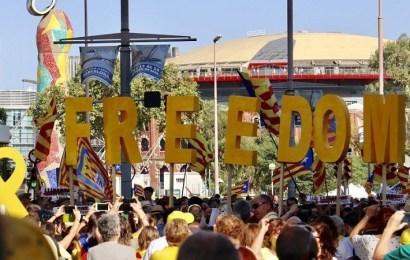 El independentismo catalán exige a los suyos una demostración de fuerza en la Diada