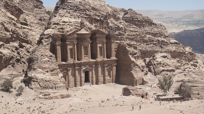 Petra es una de las 7 maravillas del mundo moderno
