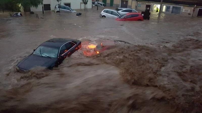 Al menos cinco muertos y cinco desaparecidos tras las fuertes lluvias en Mallorca