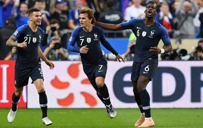 Griezmann lidera la remontada de Francia y agrava la crisis de Alemania