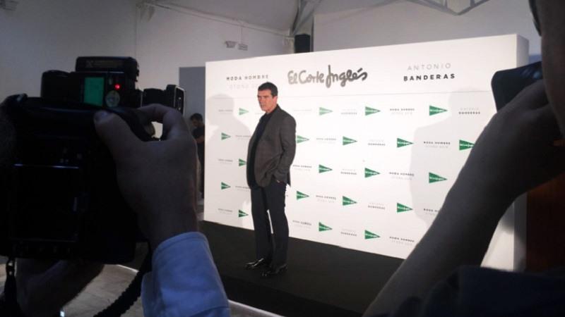 Antonio Banderas será la nueva imagen de la campaña de Moda Hombre Otoño- Invierno 2018 de El Corte Inglés