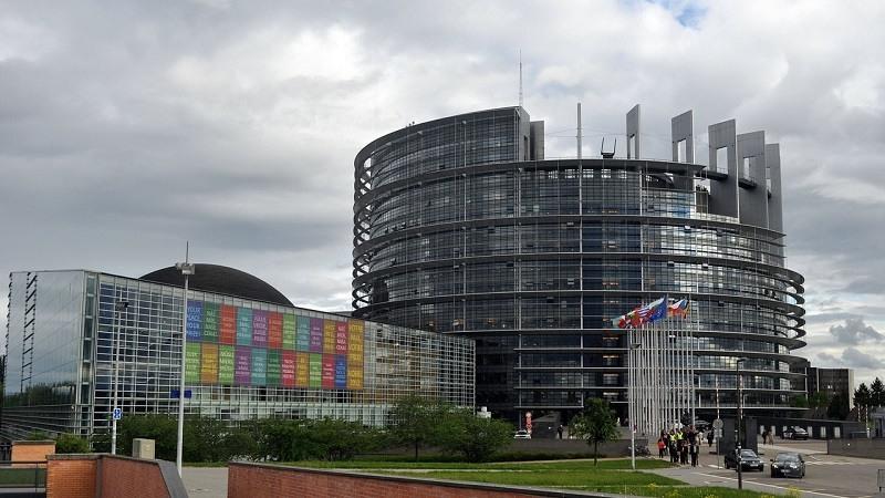 Edificio del Parlamento Europeo en Estrasburgo
