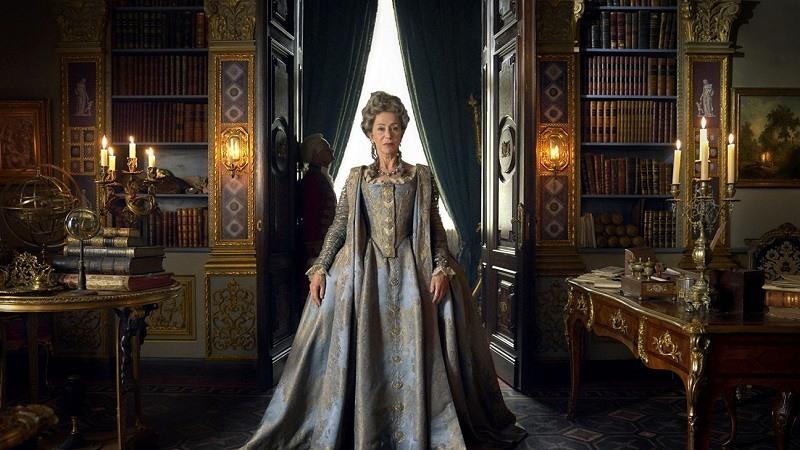 Helen Mirren como Catalina la Grande en HBO, Sky Miniseries