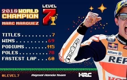 Marc Márquez gana en Japón y logra su quinta corona de Moto GP