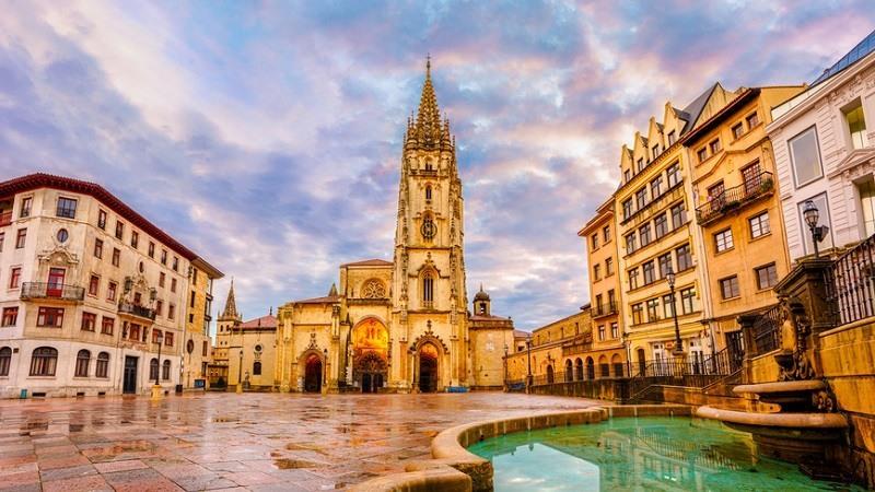 Catedral, la Santa Iglesia Basílica Catedral Metropolitana de San Salvador de Oviedo