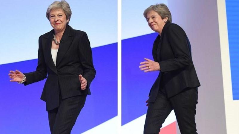 Teresa May la reina del baile del Brexit