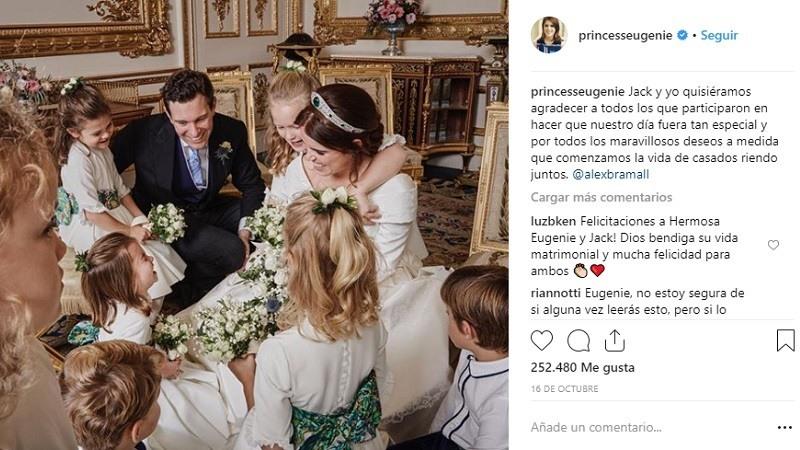 La boda de la Princesa Eugenia de York y Jack Brooksbank