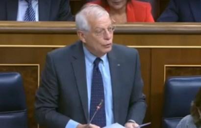 Josep Borrell afirma que no dimitirá por la sanción de la CNMV