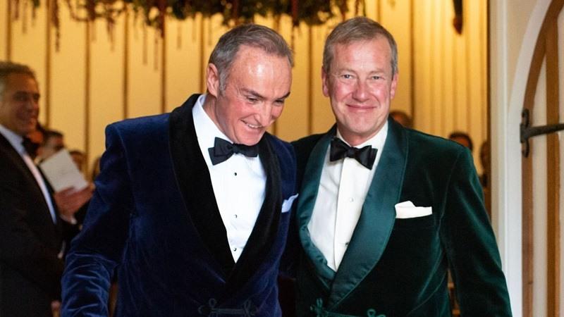 La realeza britanica celebra la primera boda gay en su historia