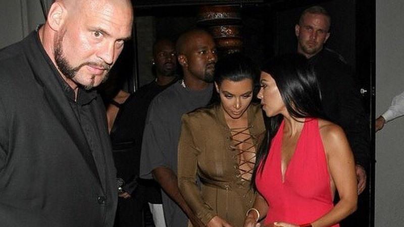 Pascal Duvier y las hermanas Kardashian