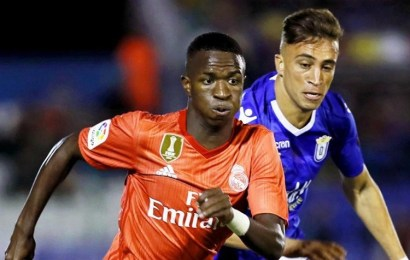 El Real Madrid de Solari cumple en Melilla y Vinicius Jr pide paso
