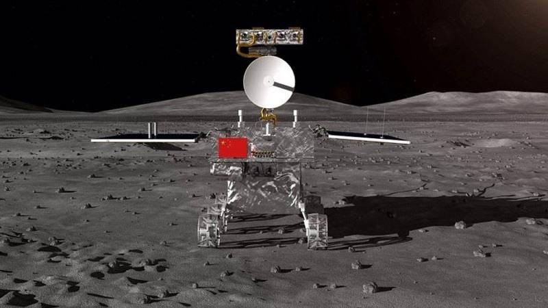 vehiculo lunar de la sonda Change 4